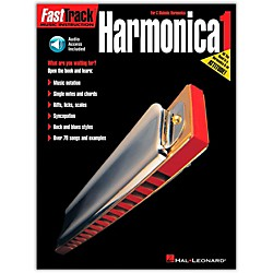 Hal Leonard FastTrack Harmonica Method Book/CD (695407)