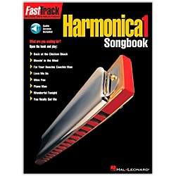 Hal Leonard FastTrack Harmonica Songbook - Level 1 Book with CD (695574)