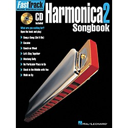 Hal Leonard FastTrack Harmonica Songbook 1 Level 2 Book/CD (695891)