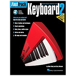 Hal Leonard FastTrack Keyboard Method - Book 2 (Book and CD Package) (697293)