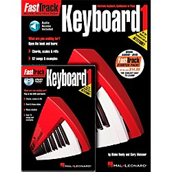 Hal Leonard FastTrack Keyboard Method Starter Pack - Includes Book/CD/DVD (696406)