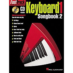 Hal Leonard FastTrack Keyboard Songbook 2 - Level 1 Book with CD (695366)