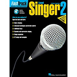 Hal Leonard FastTrack Lead Singer Method Book 2 Book/CD (695890)