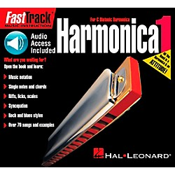 Hal Leonard FastTrack Mini Harmonica Book 1 Book/CD (695958)