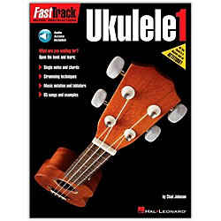 Hal Leonard FastTrack Ukulele Method Book 1 Book/CD (114417)