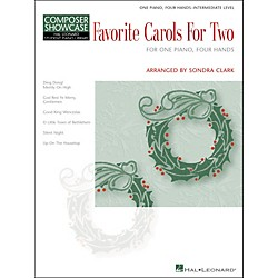 Hal Leonard Favorite Carols For Two - One Piano, Four Hands Intermediate Level Composer Showcase Hal Leonard Stu (296530)