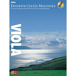 Hal Leonard Favorite Celtic Melodies For Viola Book/CD (2501862)
