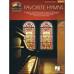 Hal Leonard Favorite Hymns - Piano Play-Along Volume 89 (CD/Pkg) arranged for piano, vocal, and guitar (P/V/G) (311940)