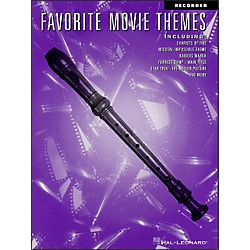 Hal Leonard Favorite Movie Themes For Recorder (841306)