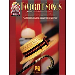 Hal Leonard Favorite Songs - Sing In The Barbershop Quartet Series Vol. 3 Book/CD (333015)