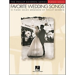 Hal Leonard Favorite Wedding Songs - Phillip Keveren Series arranged for piano solo (311881)
