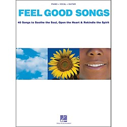 Hal Leonard Feel Good Songs arranged for piano, vocal, and guitar (P/V/G) (311360)