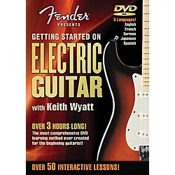 Hal Leonard Fender DVD Package - Getting Started On Electric Guitar (321209)