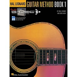 Hal Leonard Fender G-Dec Hal Leonard Guitar Method Book/SD Card (702325)