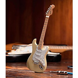 Hal Leonard Fender Stratocaster Classic Cream Miniature Guitar Replica Collectible (124403)