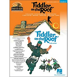 Hal Leonard Fiddler On The Roof - Piano Play-Along Volume 80 (Book/CD) arranged for piano, vocal, and guitar (P/ (311887)