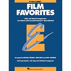 Hal Leonard Film Favorites B-Flat Bass Clarinet (860145)