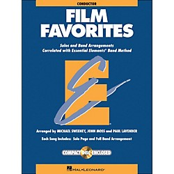 Hal Leonard Film Favorites Conductor Book/CD (860139)
