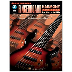 Hal Leonard Fingerboard Harmony for Bass (Book and CD Package) (695043)