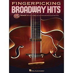 Hal Leonard Fingerpicking Broadway Hits - 15 Songs Arr. For Solo Guitar In Standard Notation & Tab (699838)