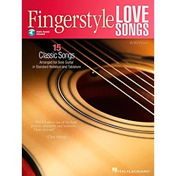 Hal Leonard Fingerstyle Love Songs - 15 Romantic Classics Arranged For Solo Guitar (Book/CD) (699912)