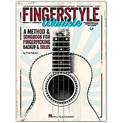 Hal Leonard Fingerstyle Ukulele - A Method & Songbook For Fingerpicking Backup & Solos Book/CD (696620)