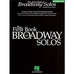 Hal Leonard First Book Of Broadway For Baritone Voice (740084)