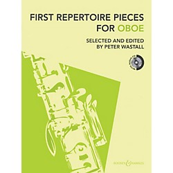 Hal Leonard First Repertoire Pieces For Oboe Book/CD Includes Piano Accompaniment (48022493)