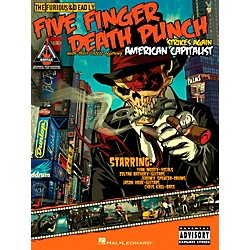 Hal Leonard Five Finger Death Punch - American Capitalist Guitar Tab Songbook (691181)