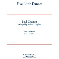 Hal Leonard Five Little Dances - Concert Band Level 3 (50498647)