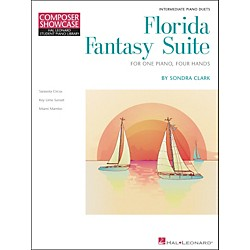 Hal Leonard Florida Fantasy Suite - One Piano/Four Hands Level 5 Hal Leonard Student Piano Library by Clark (296766)