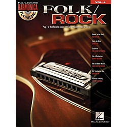 Hal Leonard Folk/Rock - Harmonica Play-Along Volume 4 (Book/CD) (482)