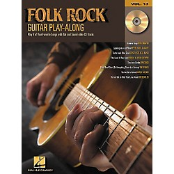 Hal Leonard Folk Rock Guitar Play-Along Series Book with CD (699581)