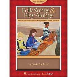 Hal Leonard Folk Songs & Play-Alongs Teacher Edition for Voice and Orff (9971300)