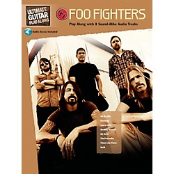 Hal Leonard Foo Fighters Ultimate Play-Along Guitar TAB Book & 2 CDs (704136)