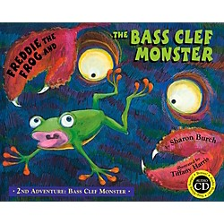 Hal Leonard Freddie The Frog And The Bass Clef Monster Book/CD 2nd Adventure: Bass Clef Monster (9971501)