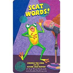 Hal Leonard Freddie The Frog And The Flying Jazz Kitten Scat Word Flashcard Set (9971643)