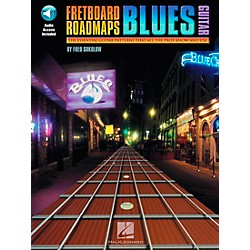 Hal Leonard Fretboard Roadmaps - Blues Guitar Book/CD (695350)