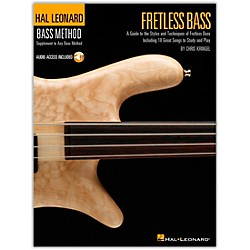 Hal Leonard Fretless Bass Method Book with CD (695850)