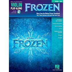 Hal Leonard Frozen - Violin Play-Along Volume 48 Book/Online Audio (126478)