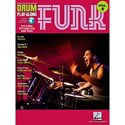 Hal Leonard Funk Drum Play-Along Volume 5 Songbook with CD (699745)