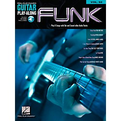 Hal Leonard Funk Guitar - Guitar Play-Along Series, Volume 52 (Book/CD) (699728)
