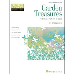 Hal Leonard Garden Treasures - Composer Showcase Intermediate/Late Intermediate Piano Solos Hal Leonard Student (296787)