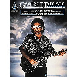 Hal Leonard George Harrison Anthology Guitar Tab Book (694798)