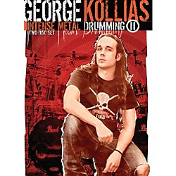 Hal Leonard George Kollias: Intense Metal Drumming II (2-DVD) (102054)