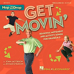 Hal Leonard Get Movin' - Seasonal Movement and Activity Songs for Grades K-3 Book/CD (113410)
