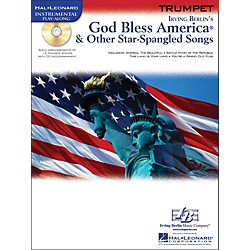 Hal Leonard God Bless America & Other Star-Spangled Songs For Trumpet Instrumental Play-Along Book/CD (842306)