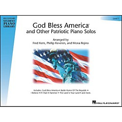 Hal Leonard God Bless America And Other Patriotic Piano Solos Level 1 Hal Leonard Student Piano Library (296249)