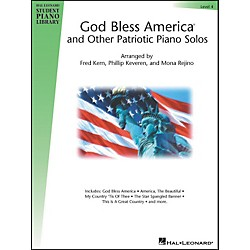 Hal Leonard God Bless America And Other Patriotic Piano Solos Level 4 Hal Leonard Student Piano Library (296256)