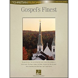 Hal Leonard Gospel's Finest - The Christian Musician arranged for piano, vocal, and guitar (P/V/G) (310959)